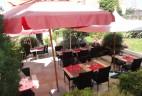 terrasse au Jardin des Sens
